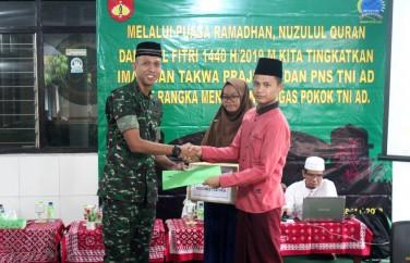 Memupuk Rasa Kebersamaan, Kodim 0734/Yogyakarta Gelar Acara Buka Puasa Bersama
