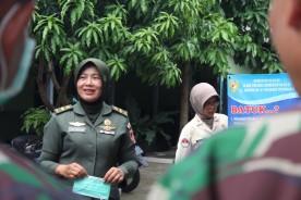 Cegah Virus Corona, Kodim Yogyakarta Sosialisasikan Tata Cara Cuci Tangan kepada Prajurit