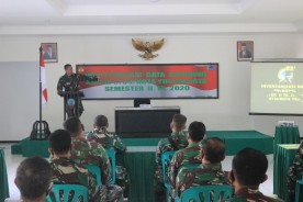 Kodim 0734/ Kota Yogyakarta Gelar Inventarisasi Data Satkowil