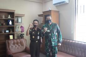 Dandim Kota Yogyakarta Silaturahmi Ke Kepala Kejaksaan Negeri KotaYogyakarta