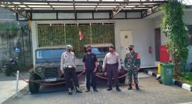 Patroli Bersama Koramil dan Polsekta Mantrijeron Untuk Rasa Aman