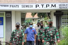 2 Posko PPKM Mikro Wilayah Kota Yogyakarta Di Kunjungi Tim Wasev Kodam IV/Diponegoro