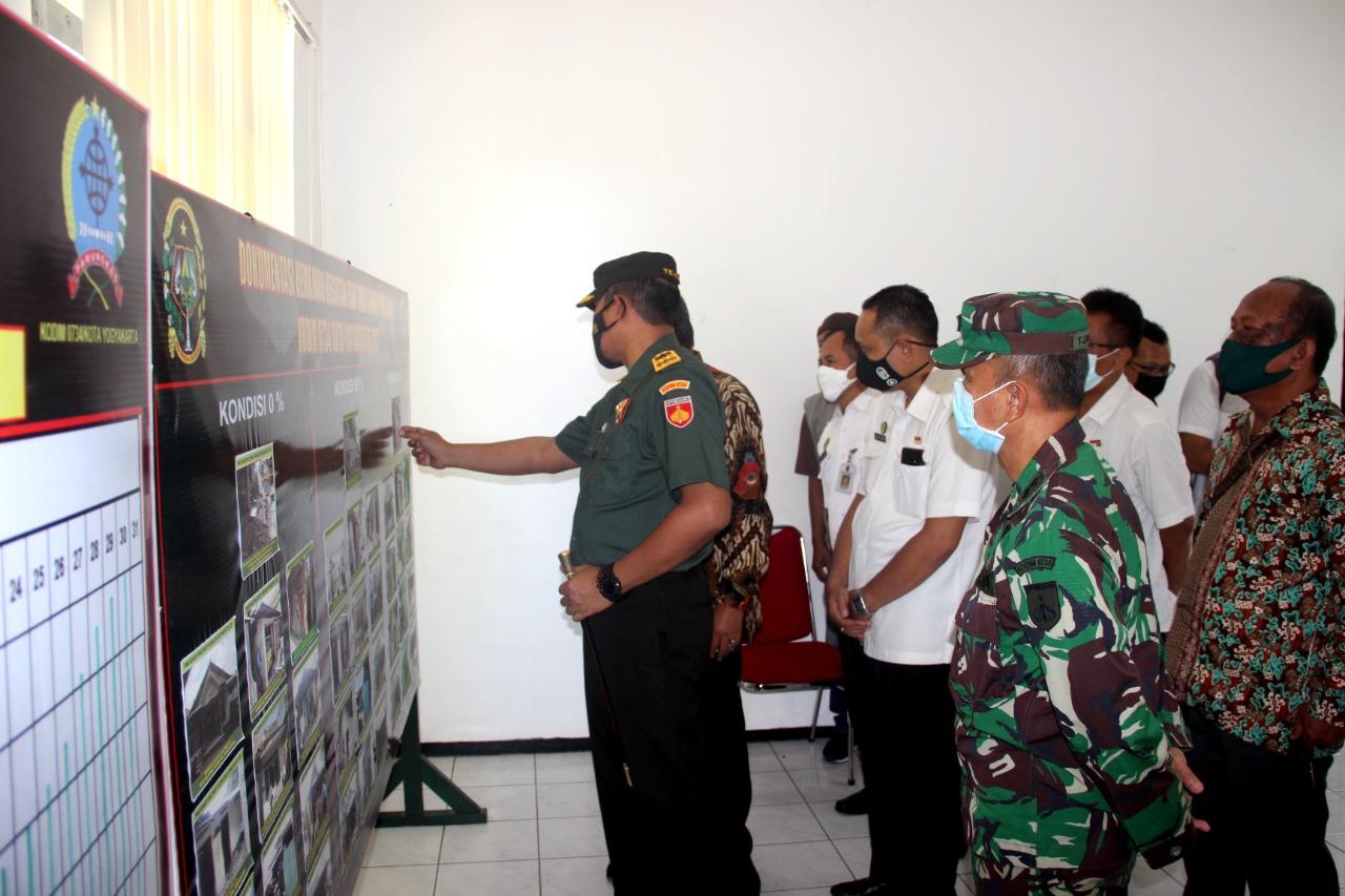 Walikota Yogyakarta : TMMD Kodim 0734/Kota Yogyakarta Tidak Diragukan Lagi Hasilnya