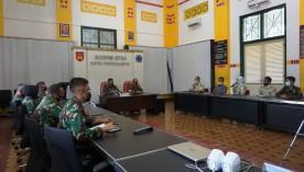 Dandim 0734/Kota Yogyakarta Terima Audiensi Resimen Mahasiswa (Menwa)