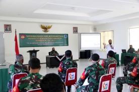 Sukseskan Program Pemerintah, Kodim 0734/Kota Yogyakarta Selenggarakan Sosialisasi KB-Kes