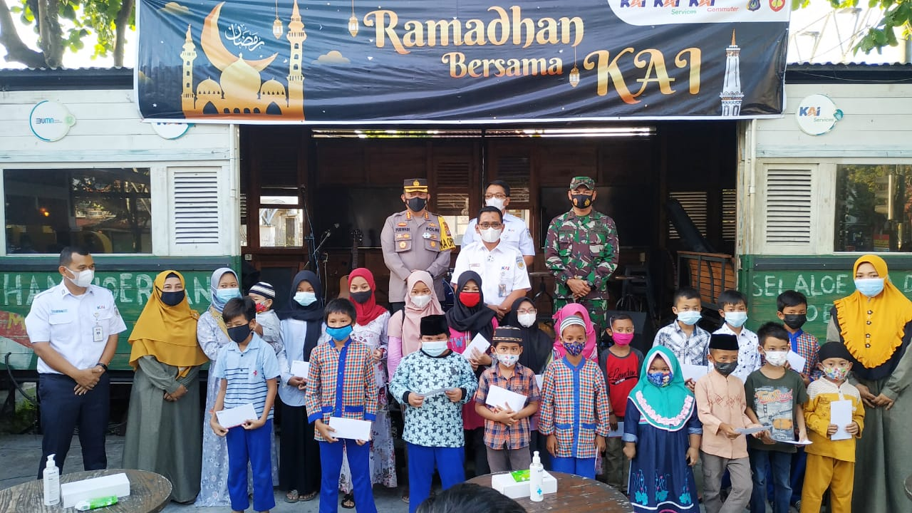 Komandan Kodim 0734/Kota Yogyakarta Santuni Anak Yatim