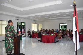 Dandim Kota Yogyakarta Gelar Komsos dengan Aparat Pemerintah yang Solid