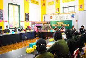Kodim Kota Yogyakarta Beri Pelatihan Entry Data Bagi Relawan Menwa Dan FKPPI Dalam Mendukung Program Vaksinasi