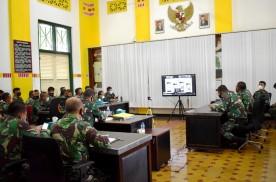 Kodim 0734/Kota Yogyakarta Ikuti Sosialisasi Dan Pelatihan Penggunaan Aplikasi Silacak Dan Ina Risk