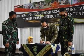 Tuntas Tepat Waktu, TMMD Sengkuyung Tahap lll Kodim Kota Yogyakarta Resmi Ditutup